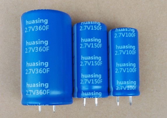 2.7V Snap In/Solder Terminal Supercapacitor