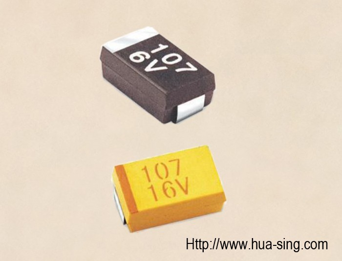 CA45 Chip/SMD Solid Tantalum Capacitors