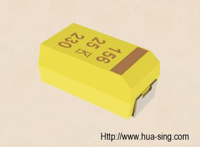 CA45B Low Profile Chip/SMD Tantalum Capacitors