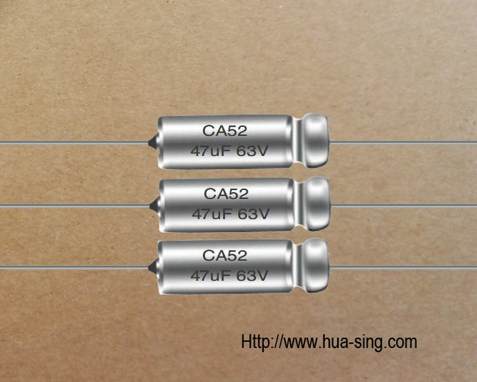 CA52 200C High Temperature Wet Tantalum Capacitors